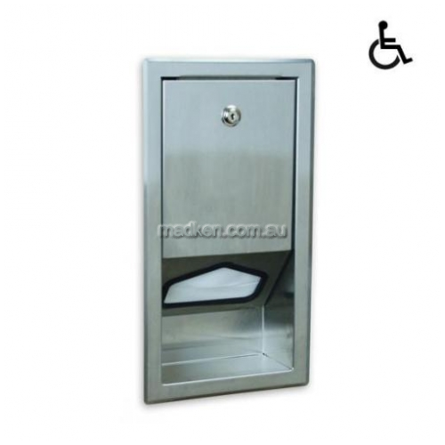 View SSLD Baby Change Table Liner Dispenser Recessed details.