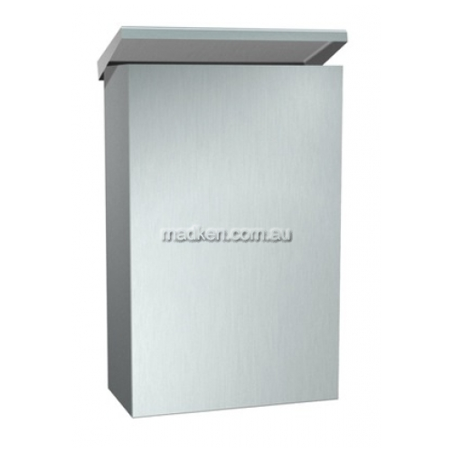 View 0852 Sanitary Napkin Disposal 4.5L Wall Mounted details.