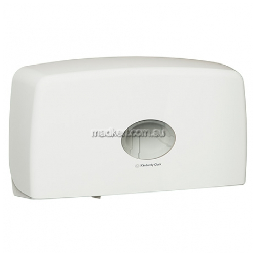 70210 Toilet Roll Dispenser Dual Jumbo