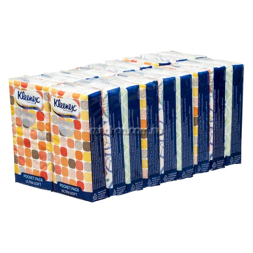 View 0201 Facial Tissues Pocket Pack 4 Ply details.