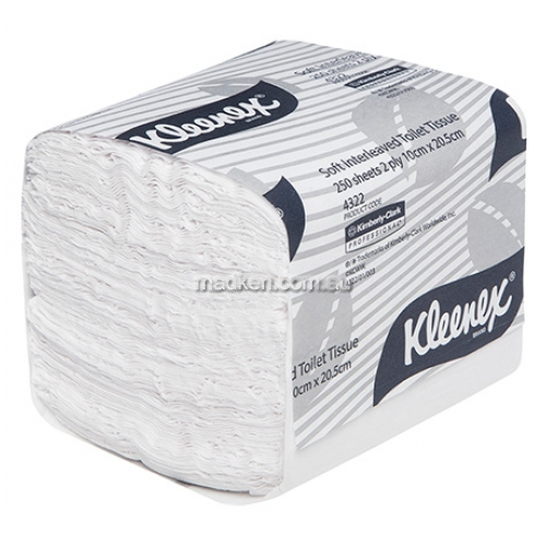 4322 Interleaved Toilet Paper Executive Soft