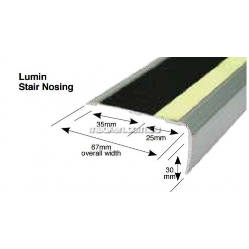 View Mat World BNOSELUM Luminous Stair Nosing details.