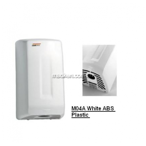 View M04ACS Hand Dryer Auto Warm Air details.