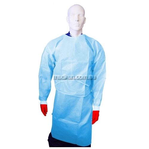 View Impervious Isolation Gown, Heavy Duty details.
