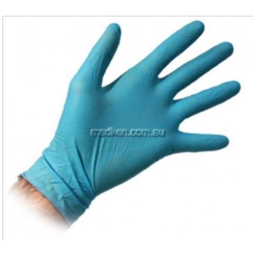 View Disposable Gloves, Powder Free, Nitrile, Medium details.