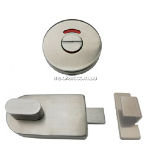 Stainless Steel Bumper and Lock Indicator Set