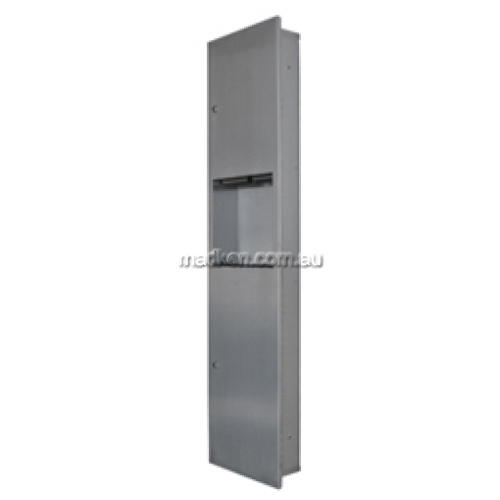 View ML706 Combo Unit Paper Towel Dispenser and Waste Bin 19L details.