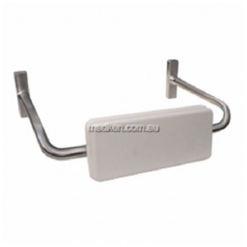 View MLR119 Toilet Backrest with White Pad details.