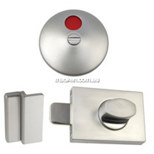 Lock and Indicator Set with Concealed Fix