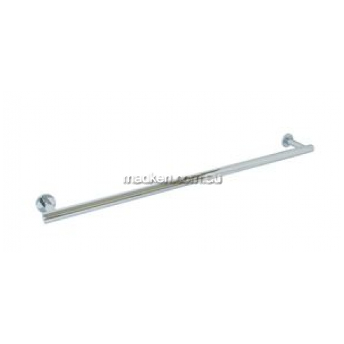 View ML6204 Single Towel Rail Round Bases details.