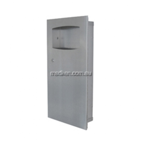 View ML710 Waste Receptacle Recessed 9L details.