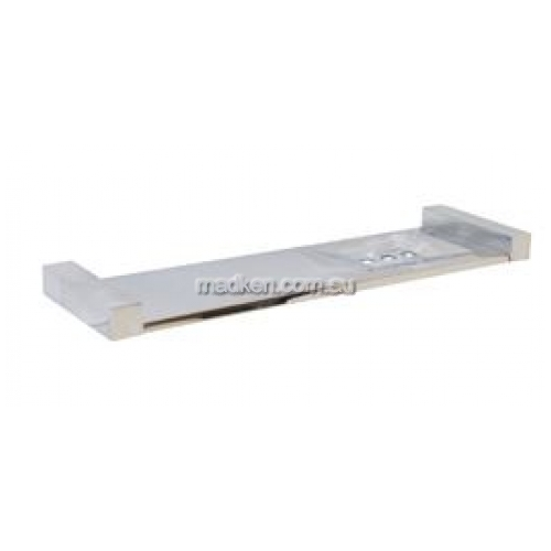 View ML6082 Combined Shelf and Soap Dish Square Mounting details.
