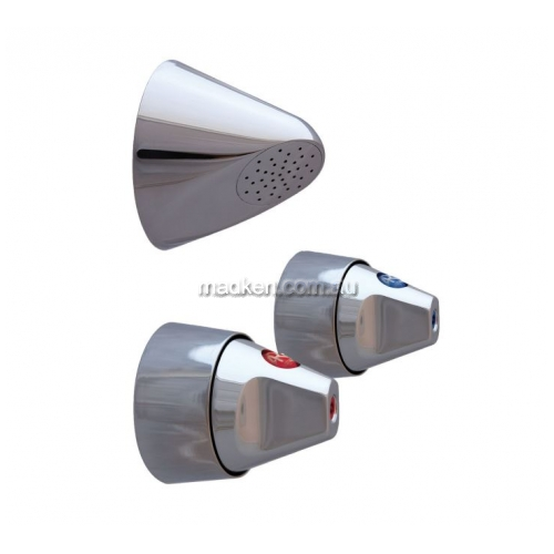 View RBA8519 Shower Set, Rose and Handles details.