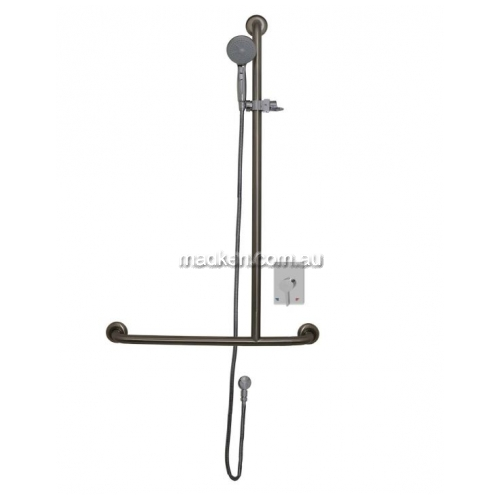 View RBA4110  Shower T-Rail with Kit details.