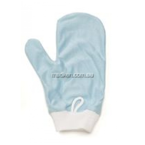 View Q651 Glass Mirror Cleaning Mitt with Thumb Microfiber details.