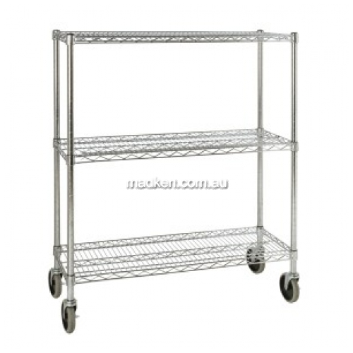 View Mobile Rack for Shelf Ingredient Bins details.