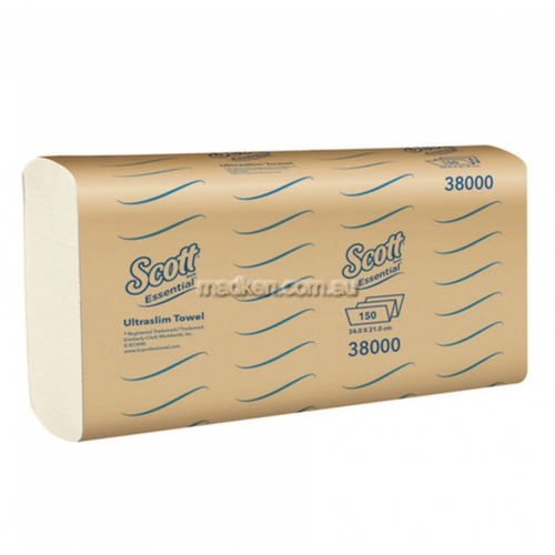 38000 Ultraslim Hand Towel Single Pack