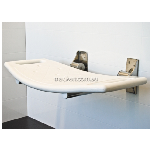 View Shower Seat Folding Curved details.