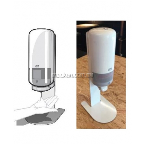 View 511056 Tabletop Stand, Suits Tork Soap,Sanitiser Dispensers details.