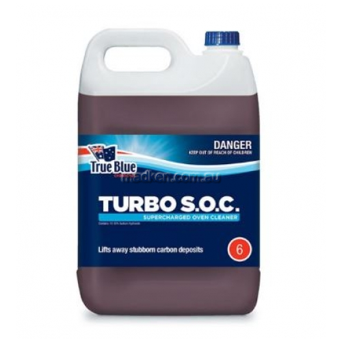 View Turbo Supercharged Oven Cleaner ***DANGEROUS GOOD**** details.