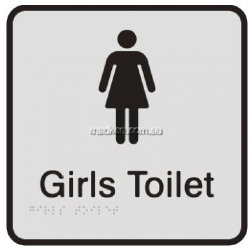 View Girls Toilet Sign details.