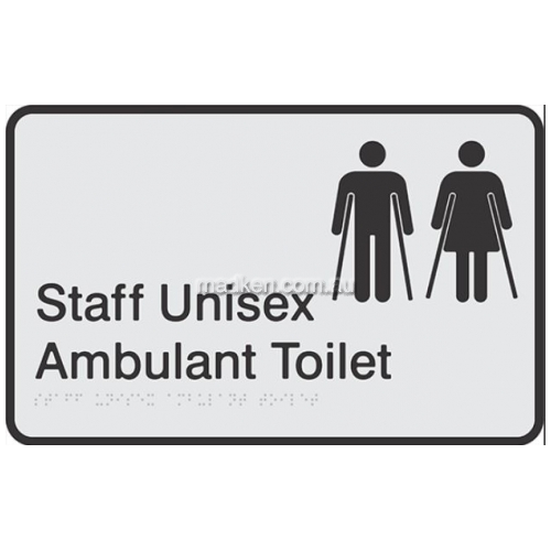 View Staff Unisex Ambulant Toilet details.