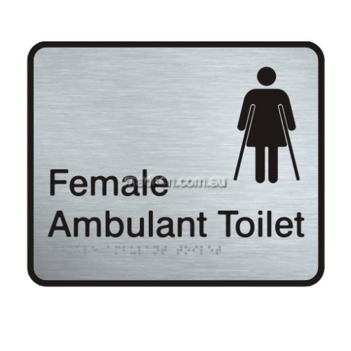 View VISS-FAAT Female Ambulant Toilet Sign details.