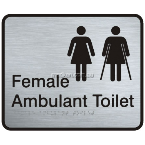 View VISS-FFAAT Female and Female Ambulant Toilet Sign details.