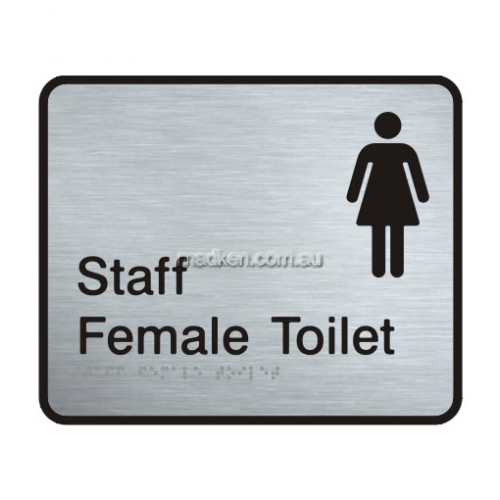 View VISS-WFT Staff Female Toilet Sign details.