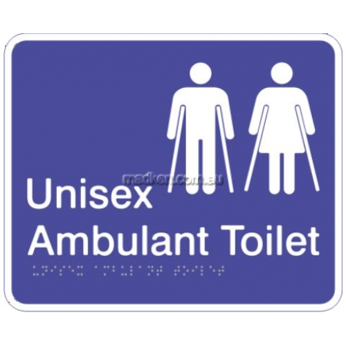 View Unisex Ambulant Toilet Sign details.