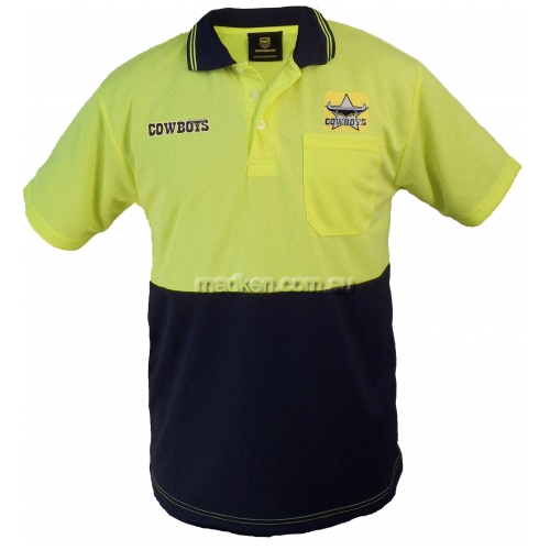View Hi Vis Short Sleeve Polo Yellow details.