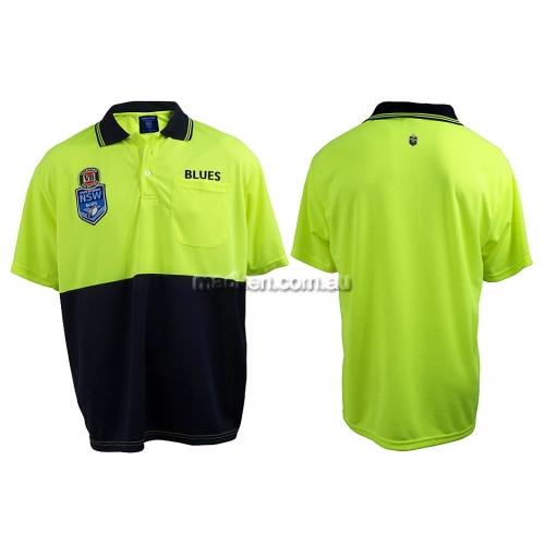 View NSW Blues Hi-Vis Polo details.