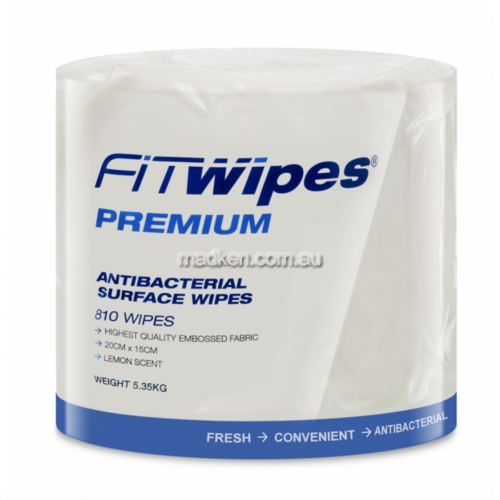 View Premium Antibacterial Surface Wipes details.
